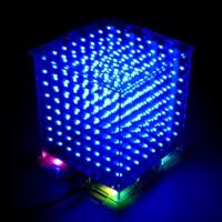 Светодиодный 3d мини куб (  3D Light Led Cube )