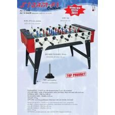 Распродажа -  Игровой стол футбол Longoni STORM F-1 FAMILY OUTDOOR ( Скидка на игровые столы )