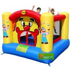 Детский надувной игровой батут веселый клоун Happy Hop Clown Bouncer 9001