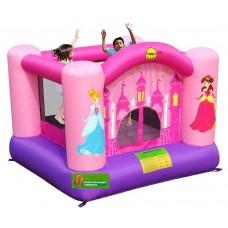Надувная детская горка батут веселая принцесса  Happy Hop Princess Bouncer 9001P