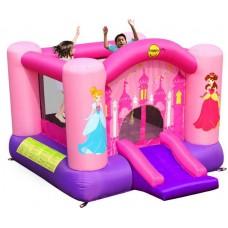 Надувной батут Веселая Принцесса Happy Hop Princess Slide and Hoop Bouncer 9201P