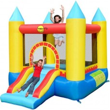 Надувной батут замок Happy Hop Castle Bouncer with Slide 9314