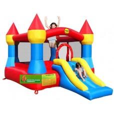 Надувная горка батут великан с горкой Happy Hop Castle Bouncer with Slide 9017
