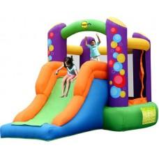 Надувная детская горка батут с горкой Happy Hop  Combo Bouncer with Slide  9236