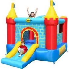 Надувной игровой центр батут замок Happy Hop Castle Bouncer with Slide 9312
