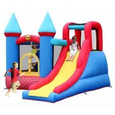 Надувной центр батут Happy Hop Red Bricks Castle 9007