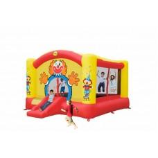 Детский надувной батут клоун Happy Hop Super Clown Slide Bouncer 9014N