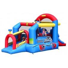Надувной батут Игровой Центр Паравозик  Happy Hop Bouncy Train 9054N