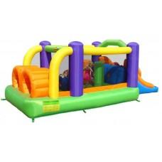 Надувной аттракцион полоса препятствий Happy Hop Obstacle Course Bouncer 9063