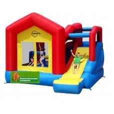 Надувная горка игровой центр прыг-скок  Happy Hop Climb and Slide Bouncy House 9064N