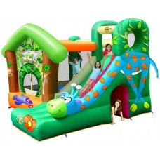 Надувной батут Happy Hop Jungle Fun 9139 игровой центр