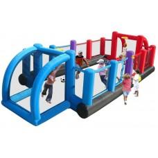 Детский надувной спортивный комплекс Happy Hop Inflatable Soccer Field 9072