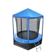 Купить не дорого  - Батут Optifit Like Blue 8ft с цветной крышей ( скидка на батуты )