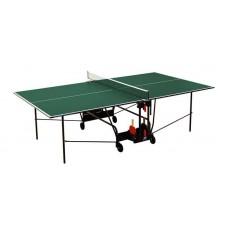 Купить недорого -  Домашний теннисный стол Sunflex Hobby Indoor зелёный