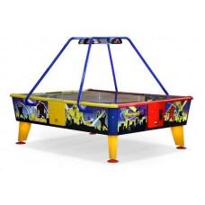 Игровой стол аэрохоккей Wik 4 Monsters 238 cm x 183 cm- ( жетоноприемник )