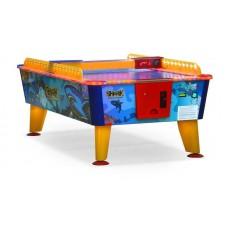 Игровой стол аэрохоккей Wik Shark 6ф (всепогодный- жетоноприемник)