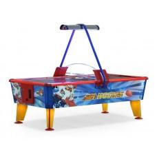 Аэрохоккей Wik Ice&Fire GOLD Игровой стол 6 футов (жетоноприемник)