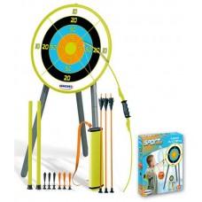 Детский лук со стрелами и мишенью Smoby 330082