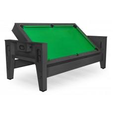 Распродажа -  Игровой стол трансформер Dbo Twister чёрный ( Скидка на игровые столы )