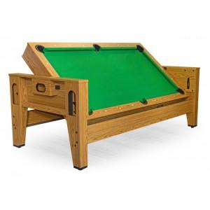 Распродажа -  Игровой стол трансформер Dbo Twister (дуб) ( Скидка на игровые столы )