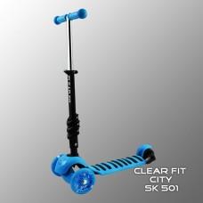 Детский самокат Clear Fit City SK 501