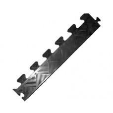 Бордюр резиновый для коврика, черный, толщина 20 мм