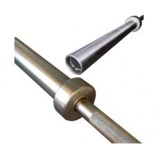 Гриф barbell проф. д50 мм, макс. нагрузка 545кг, д. стержня 28мм, покрытие никель фосфор (Б/ЗАМКОВ)