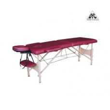 Массажный стол DFC NIRVANA, Optima, дерев. ножки, цвет винный (Wine)