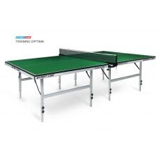 Теннисный стол Start Line Training Optima green - стол для настольного тенниса с системой регулировки высоты
