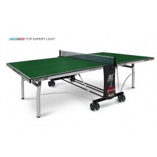 Теннисный стол Start Line Top Expert Light green -  облегченная модель  топового теннисного стола для помещений Уникальный механизм складывания 6046-1