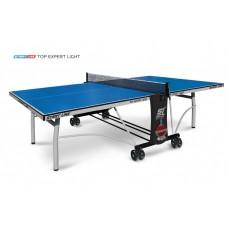 Теннисный стол Start Line Top Expert Light -  облегченная модель  топового теннисного стола для помещений Уникальный механизм складывания 6046