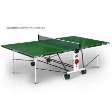Теннисный стол Start Line Compact Outdoor LX green 6044-11