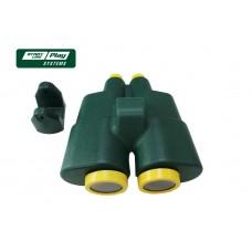 Бинокль зеленый  slp systems slp04-203