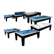 Распродажа -  Игровой стол многофункциональный Dbo Dybior Mistral черный ( Скидка на игровые столы )