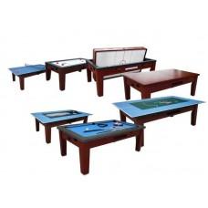 Распродажа -  Игровой стол многофункциональный Dbo Dybior Mistral коричневый ( Скидка на игровые столы )